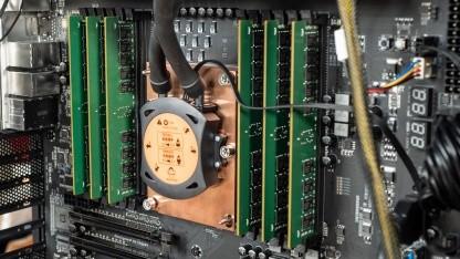 Ein älterer Xeon W-3175X mit 6-Kanal-Interface