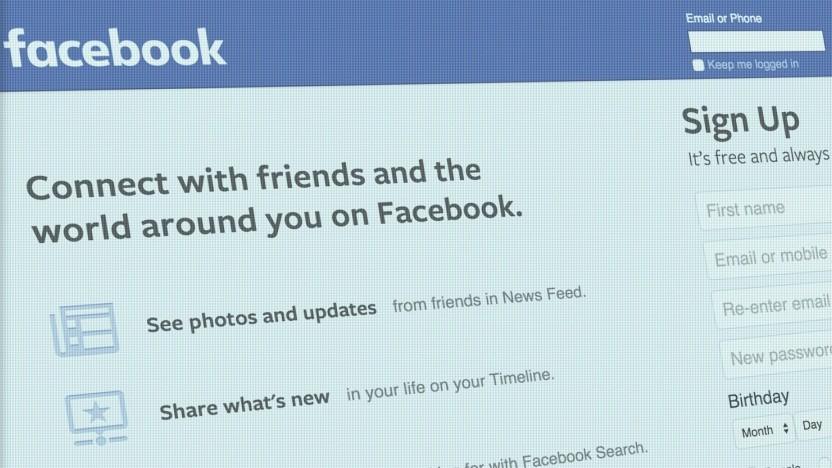 Facebook fragte manche Nutzer nach dem Passwort zu ihrer E-Mail-Adresse.