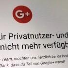 Soziales Netzwerk: Google+ ist tot
