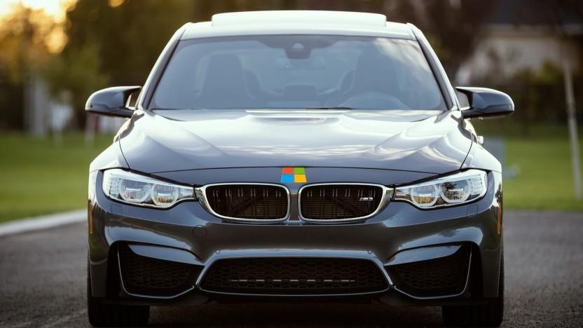BMW und Microsoft kooperieren für eine Herstellerinitiative.