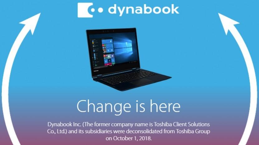 Aus Toshiba-Notebooks werden Dynabooks.