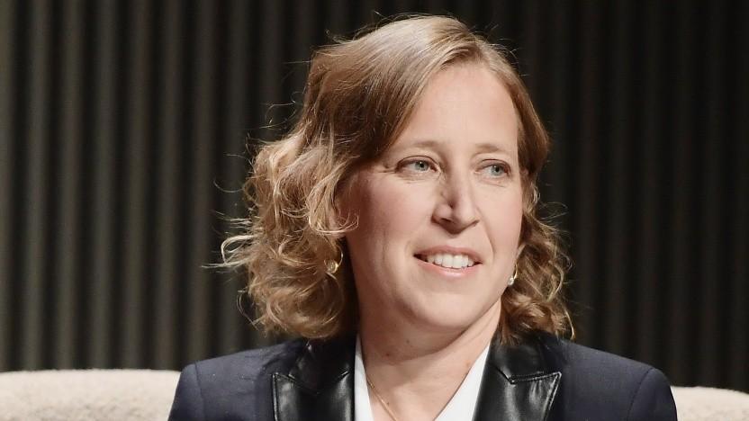 Youtube-Chefin Susan Wojcicki im Oktober 2018 auf einer Veranstaltung in San Francisco