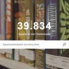 Internationale Computerspielesammlung: Weltweit größte Spiele-Datenbank ist online