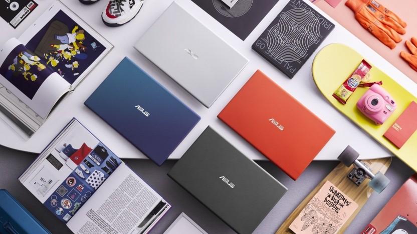 Die neuen Vivobooks wird es in vier Farben geben.