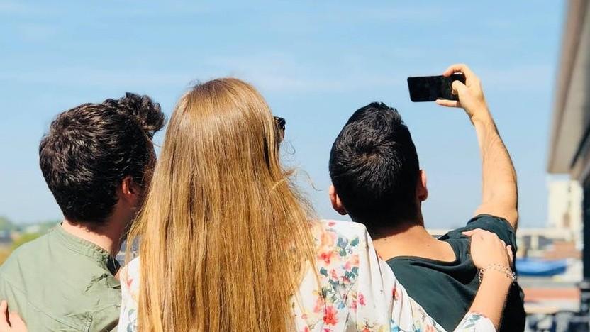 So funktionieren Gruppen-Selfies bisher.