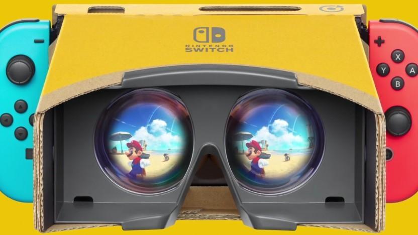 Super Mario Odyssey auf der VR-Labo