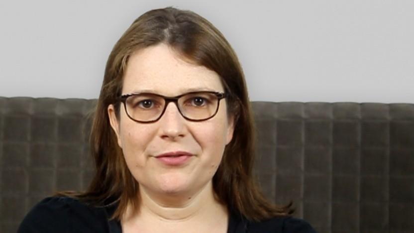 Die Journalistin Petra Fröhlich ist Mitglied der Jury des Deutschen Computerspielpreises.