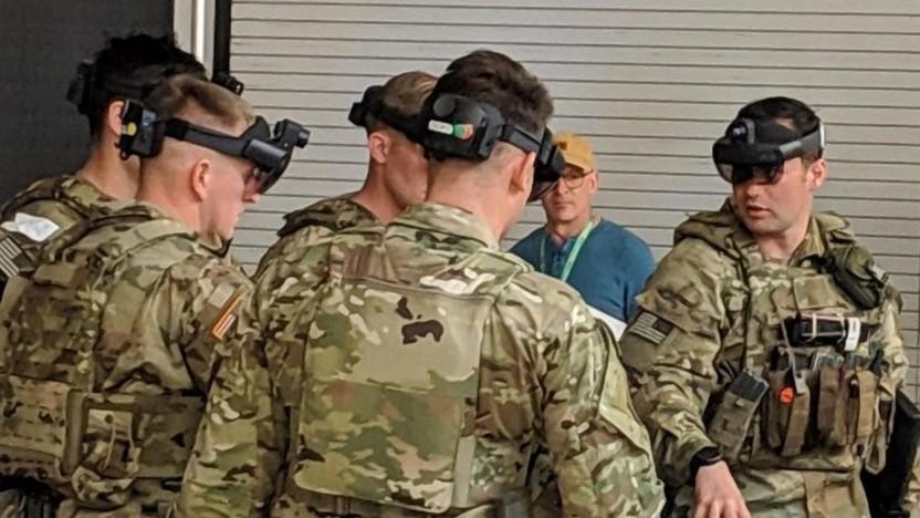 Die US Army testet bereits funktionierende Prototypen des Headsets.