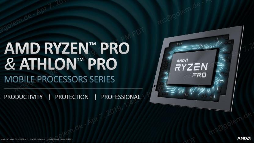 Ryzen Pro Mobile 3000 alias Picasso