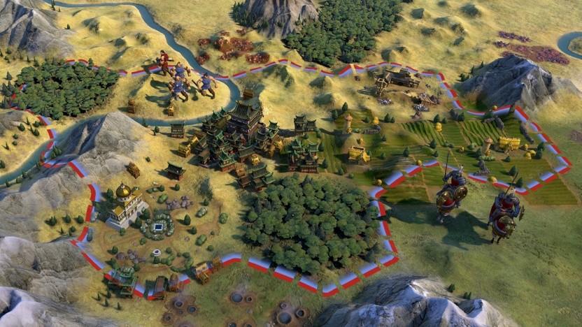 Civilization 6 mit Grafik von Civ 5