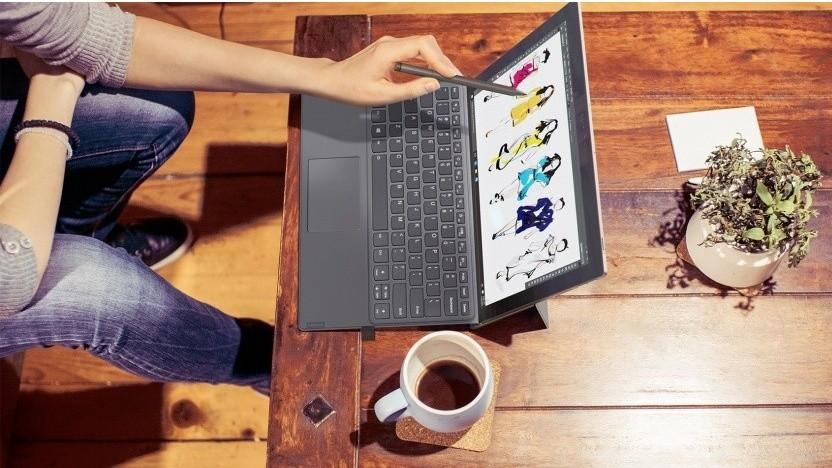 Auf Geräten wie dem Miix 630 von Lenovo läuft vielleicht bald auch Linux.