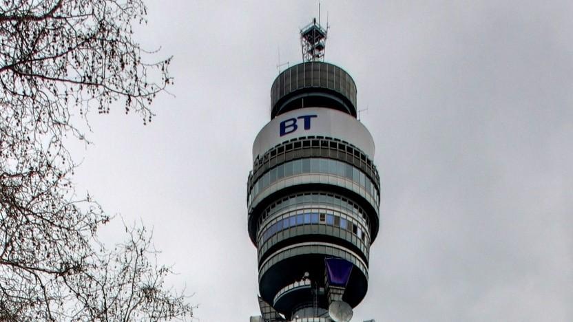 Der BT Tower in London