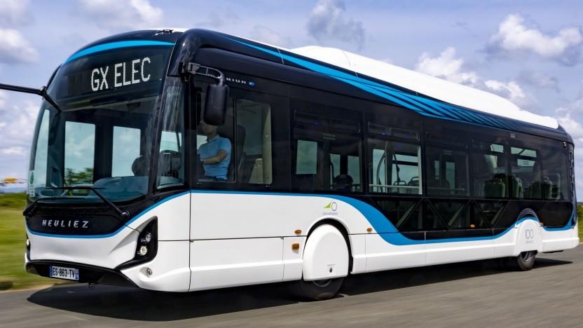 Elektrobus GX ELEC von Heuliez
