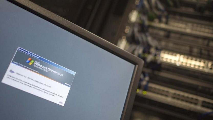 Ältere Windows-Server brauchen Updates. (Symbolbild)