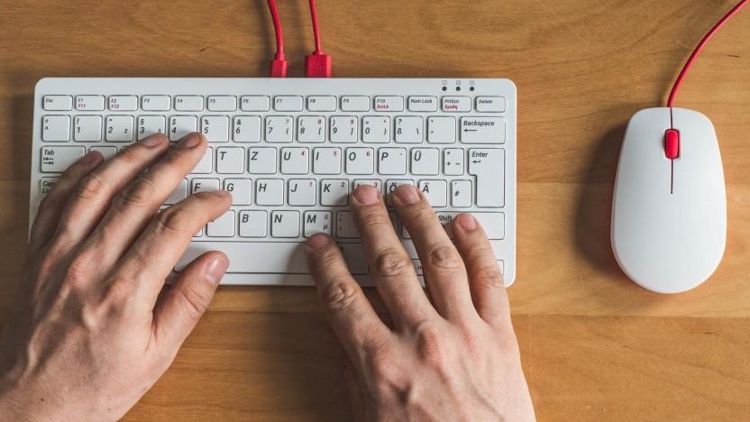 Die Tastatur und die Maus für den Raspberry Pi