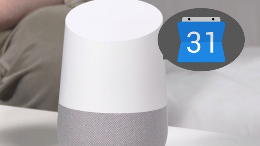 Google Assistant wird in den Kalender integriert.