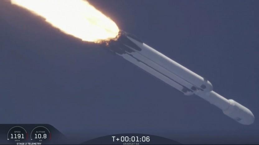 Der zweite Flug der Falcon Heavy verlief erfolgreich, inklusive der Landung.
