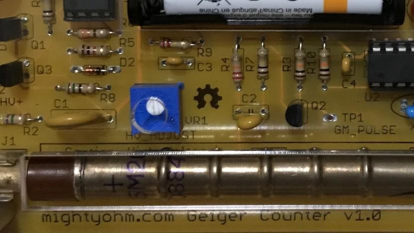 Geigerzähler für den Raspberry Pi