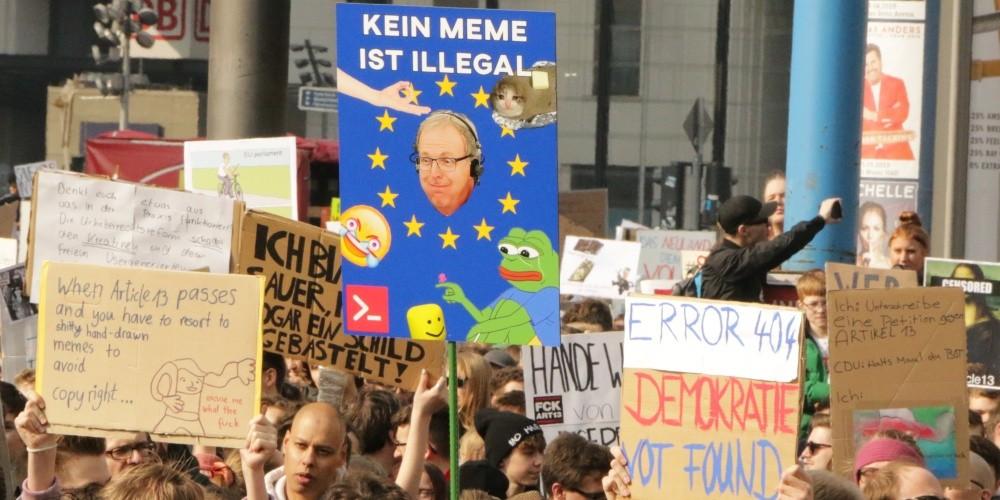 Urheberrechtsreform: Was das Internet nicht vergessen sollte