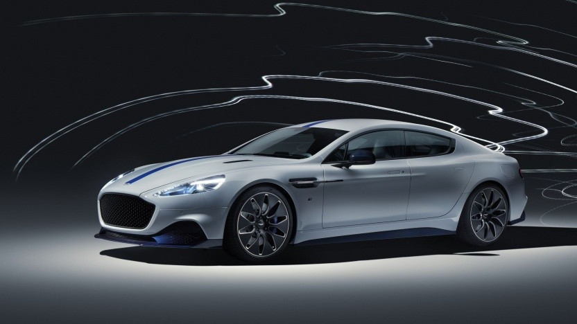 Aston Martin Rapid E: Antriebsstrang von Williams