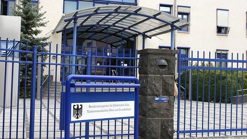 Ort der Auktion: Dienstgebäude der Bundesnetzagentur in Mainz