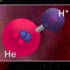 Heliumhydrid-Ion: Forscher weisen ältestes Molekül im Weltall nach