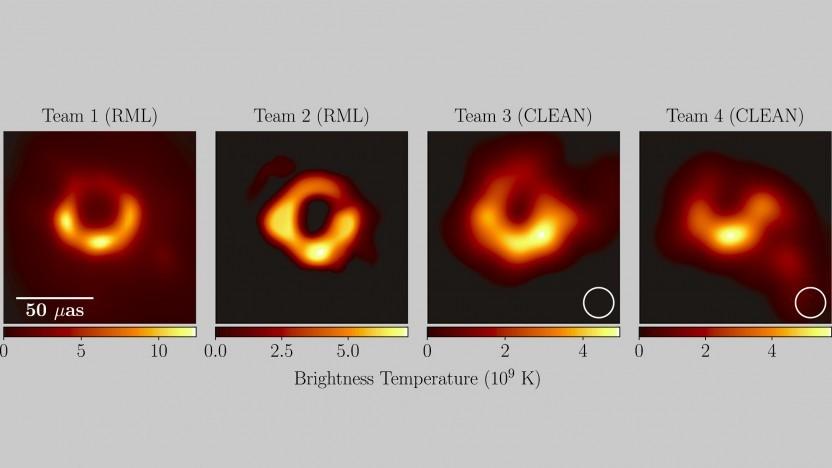 Es gibt mehr als nur ein mögliches Bild vom schwarzen Loch.