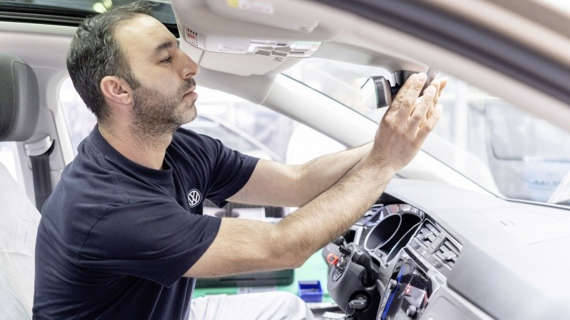 Bald soll es im Montagewerk Wolfsburg 5G geben.