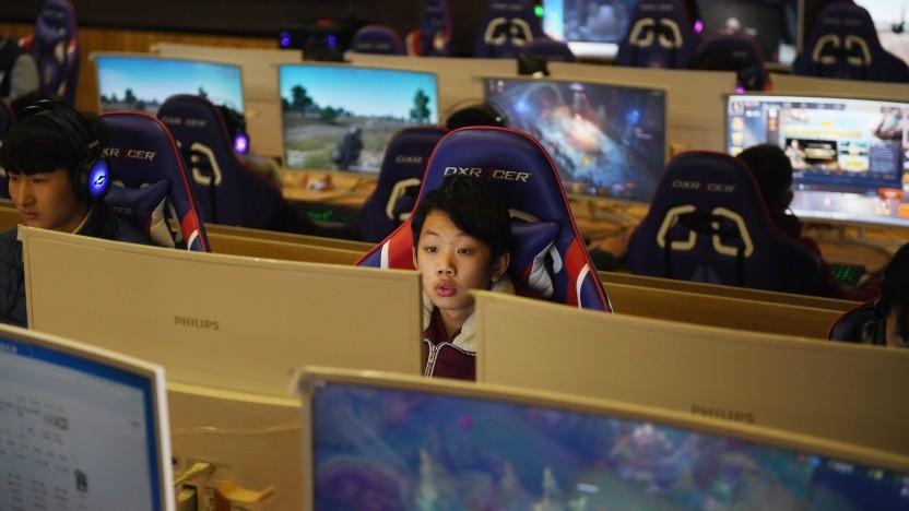 Spieler in der chinesischen Millionenstadt Jinan