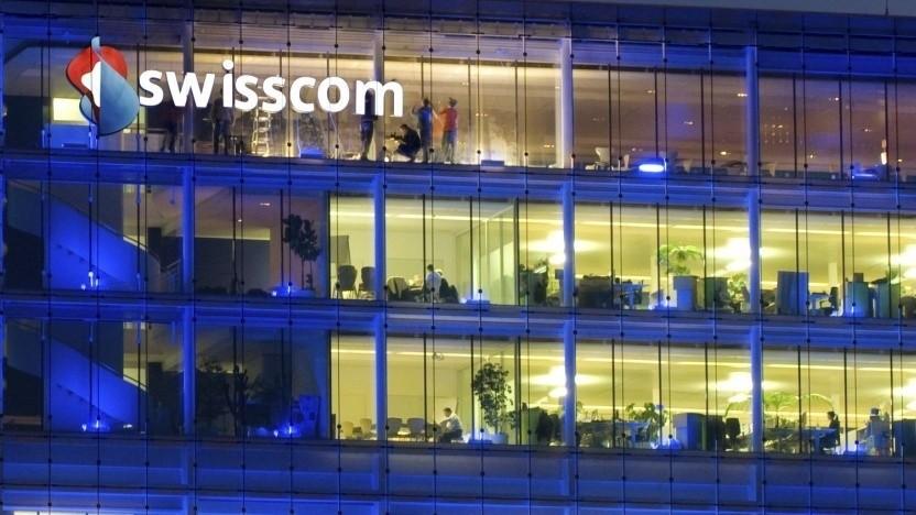 Der Sitz von Swisscom in Bern