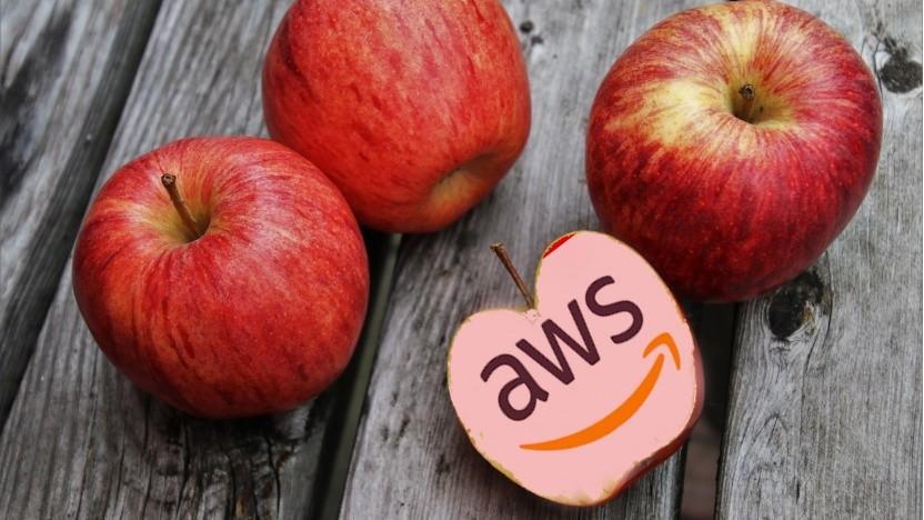 Apple ist ein großer Kunde bei AWS.