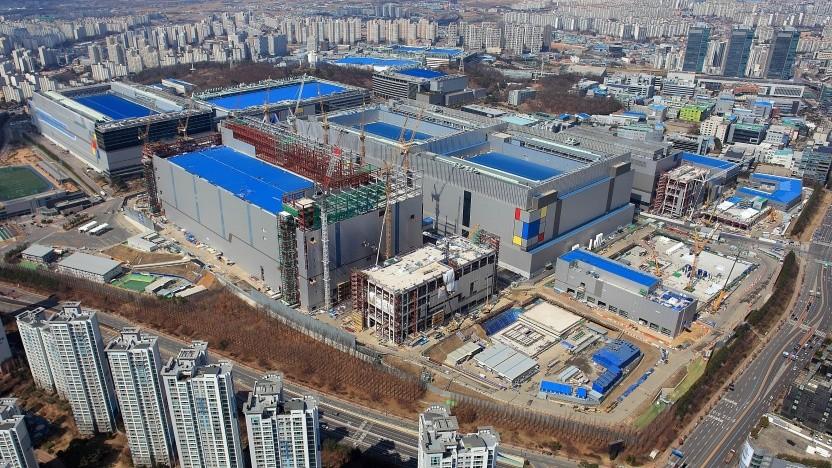 Fab S3 im südkoreanischen Hwaseong