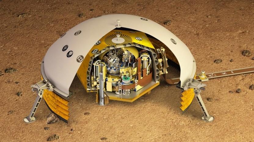 Das SEIS-Instrument hat erstmals ein Beben auf dem Mars sicher nachgewiesen.