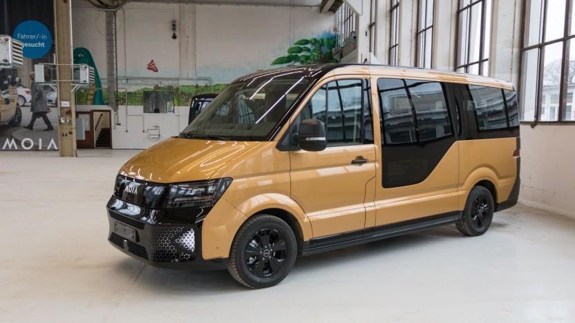 Elektrischer Kleinbus Moia: 200 Moias sind zumutbar.