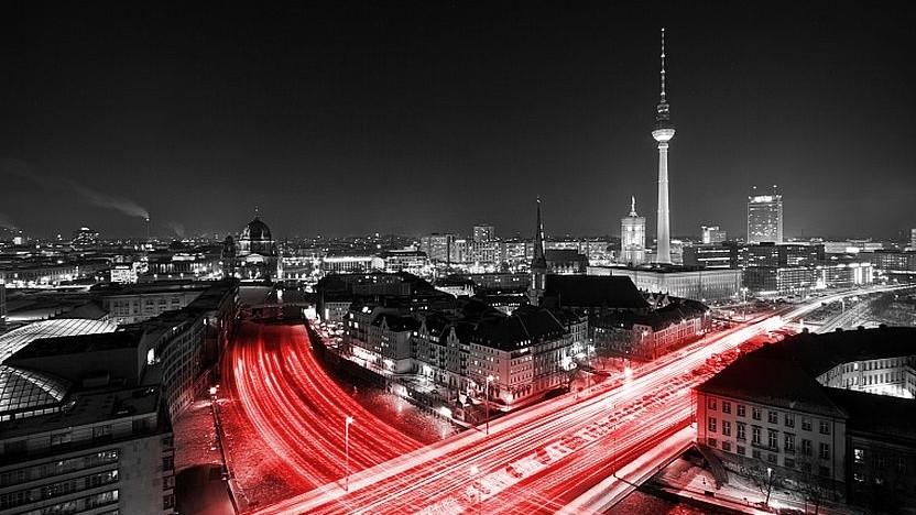 Grafik von Vodafone zum Ausbau in Berlin