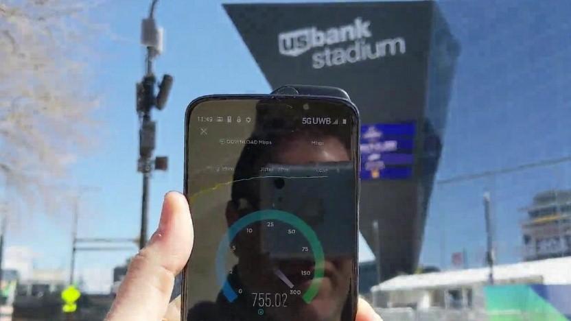 Motorola-Smartphone Moto Z3 im 5G-Netz