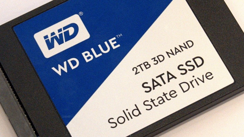 Western Digitals bisherige WD Blue 3D mit 2 TByte