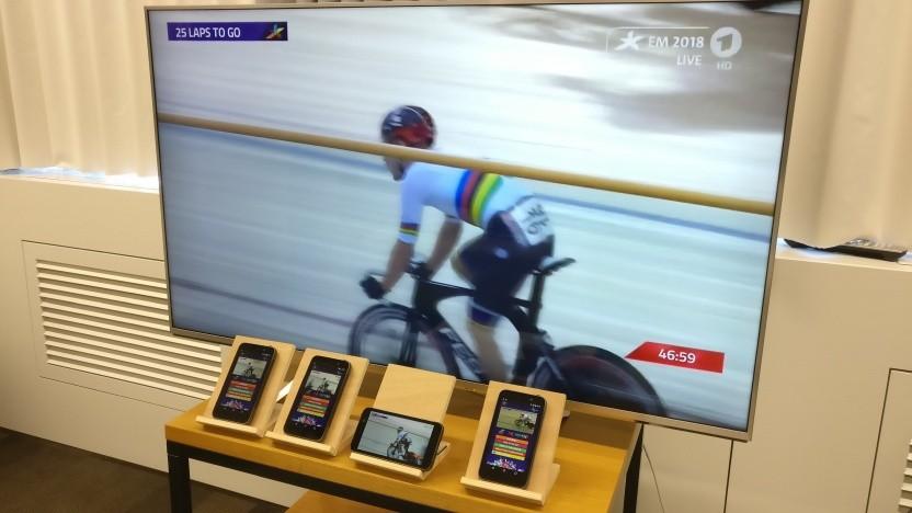 IRT Tests von 5G Broadcast