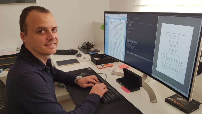 Er war 15 Jahre früher dran als erwartet: Der Belgier Bernard Fabrot hat das Kryptopuzzle LCS35 gelöst.
