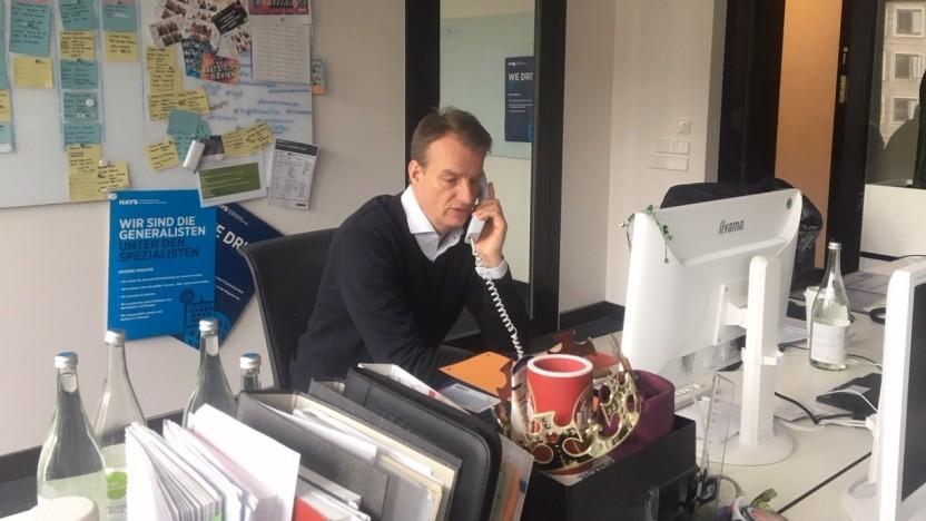 IT-Headhunter Marco Nadol ist Leiter der Berliner Niederlassung von Hays.