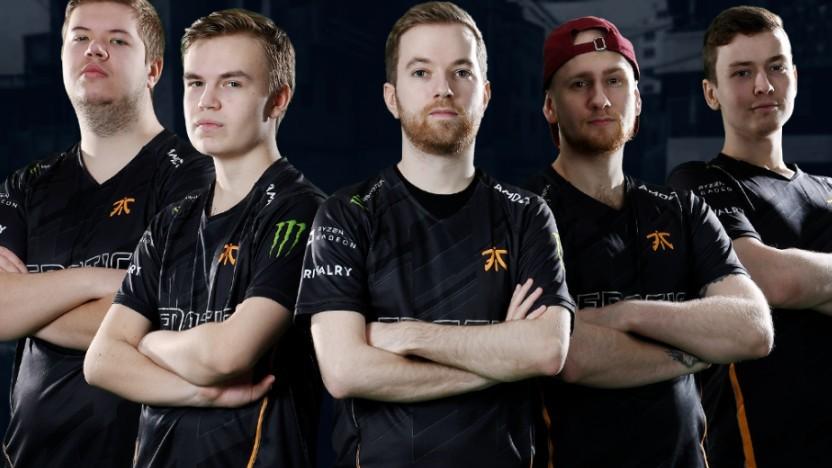 Das derzeitige CS:GO-Team von Fnatic