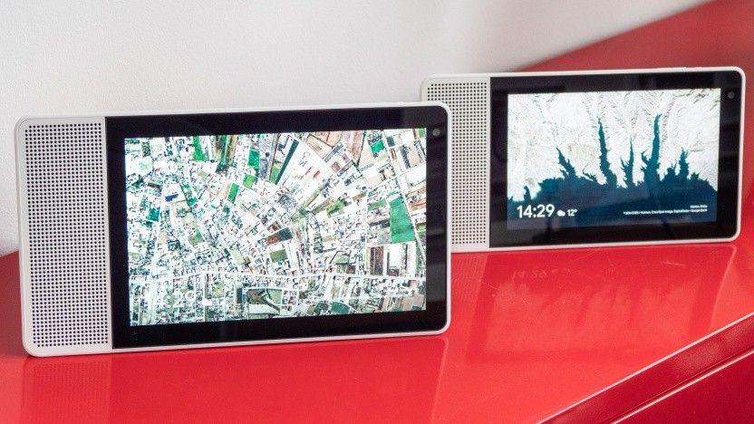 Lenovos Smart Displays laufen mit Google Assistant.