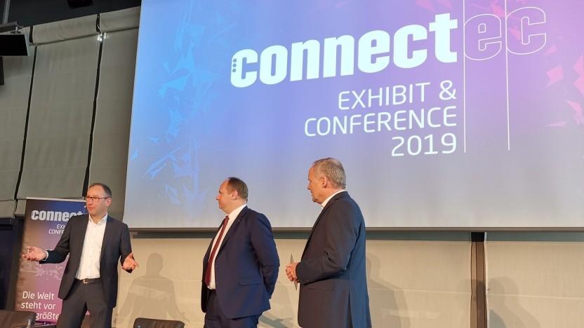 Die Eröffnung der ConnectEC in Dresden
