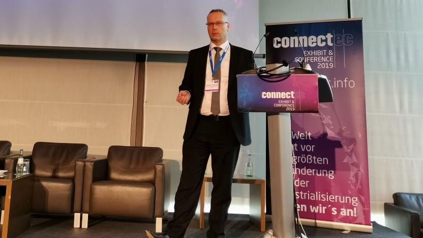 Walter Haas, CTO bei Huawei spricht am 2. Mai auf der ConnectEC