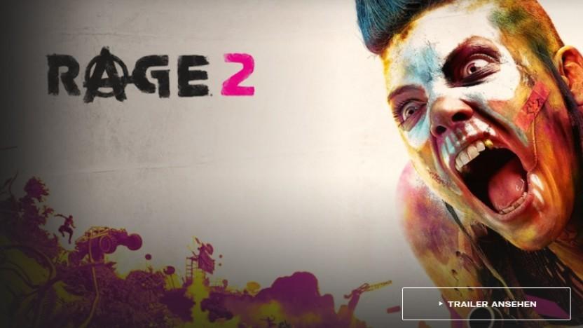 Artwork von Rage 2