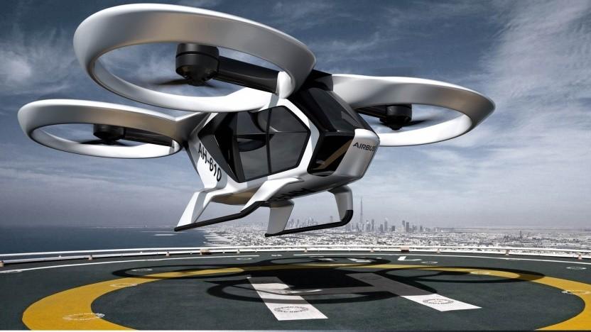 Lufttaxi City Airbus: unbemannte Flugtests im Sommer 2019