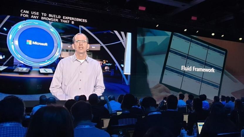Auf der Build 2019 stellt Microsoft das Fluid Framework kurz vor.