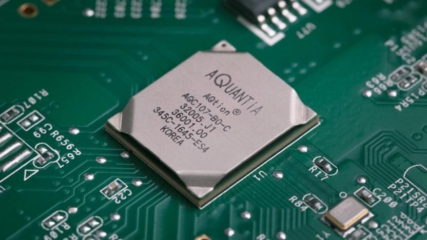 Ein Aqtion-Chip für Network Interface Cards (NICs)