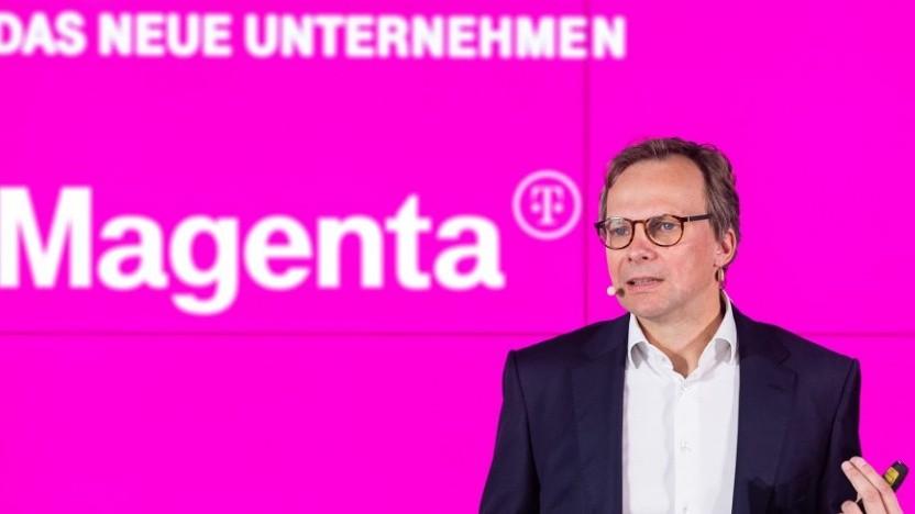 T-Mobile-Austria-Chef Andreas Bierwirth stellt das neue Unternehmen vor.