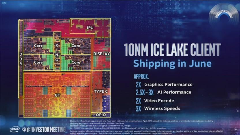 Ice Lake U soll ab Juni 2019 an Partner ausgeliefert werden.